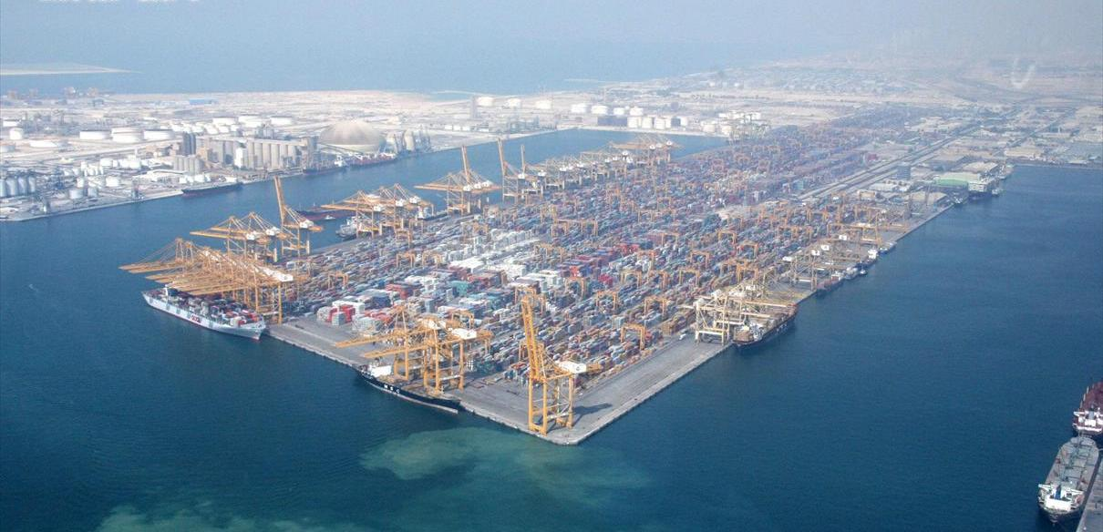 DP World has launched 'India-UAE bridge' to attract Indian trade and investments to its flagship Jebel Ali Port and Jafza. Photo courtesy: Wikimedia