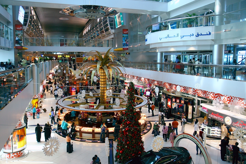 The Indian currency will now be accepted for transactions at all three terminals of Dubai International Airport and at Al Maktoum Airport. Photo courtesy: Wikimedia