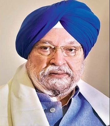Hardeep Singh Puri, Indian Civil Aviation Minister. Photo courtesy: gov.in