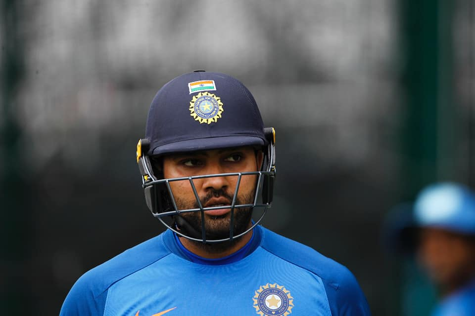 Rohit Sharma has scored 5 centuries in the 2019 ICC World Cup. Photo courtesy: Facebook/Indian Cricket Team