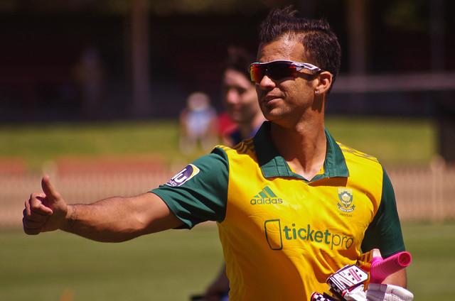The 2019 World Cup was Duminy's third appearance at cricket's premier tournament.
