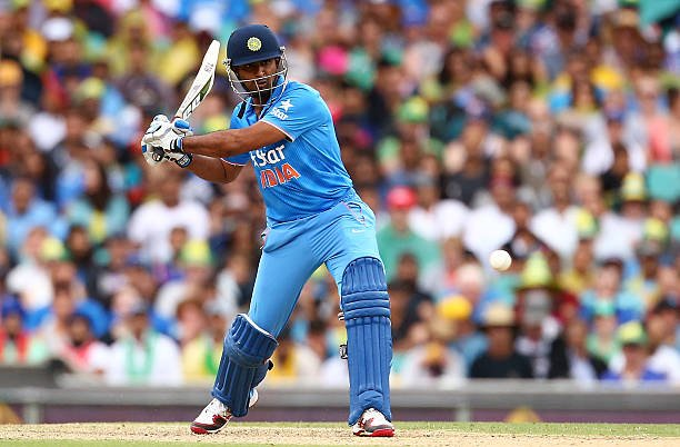 In the 55 ODIs that the 33-year-old played, Rayudu scored 1,694 runs at an average of 47.05.