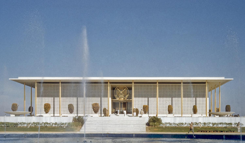 US Embassy in New Delhi. Photo courtesy: Wikipedia