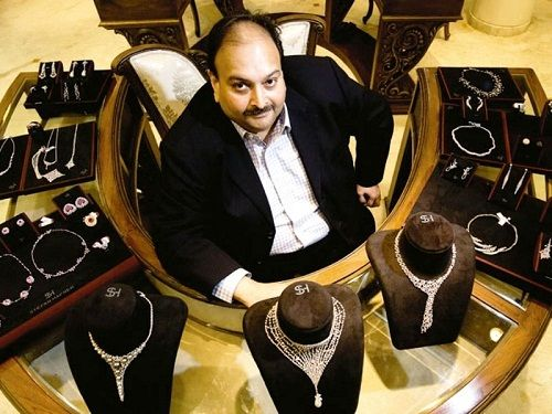 ED has seized three commercial properties in Dubai, valuables, a Mercedes Benz E280 and a fixed deposit account controlled by Mehul Choksi. Photo courtesy: WikiBio