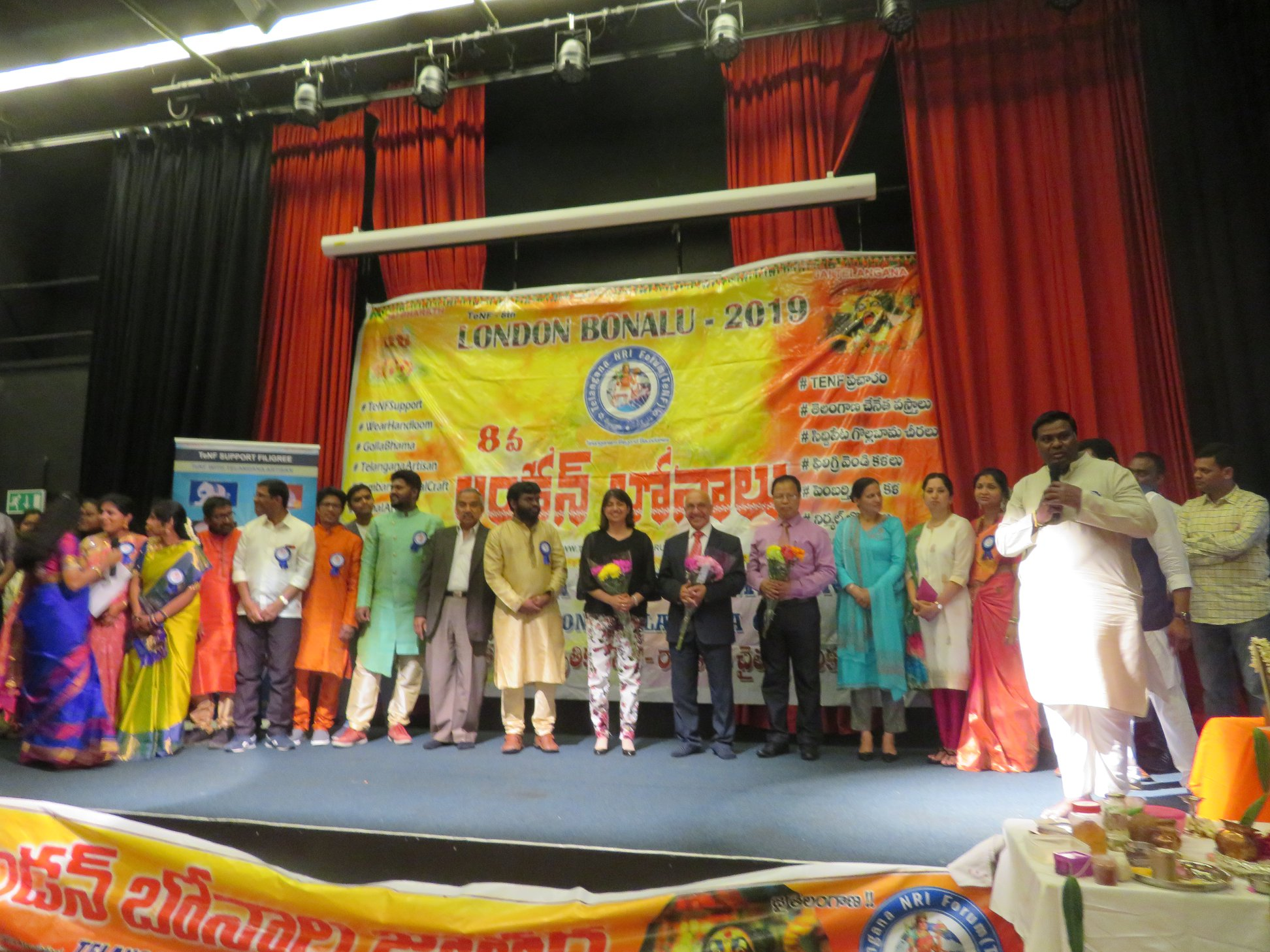 Indian origin local MPs Virendra Sharma, Seema Malhotra, Ruth Cadbury, Hounslow Deputy Mayor Raghwinder Siddhu and Indian High Commission to UK representative Prem Jeet were guests of honour on the occasion.