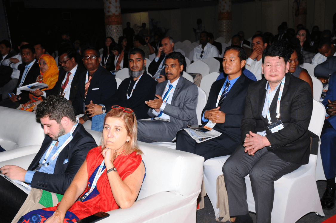 Delegates from around the world participating at the 19th edition of INDIASOFT. Photo courtesy: indiasoft.org