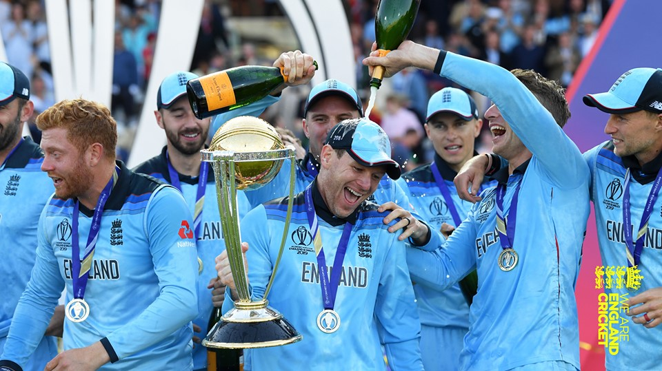 England won the ICC World Cup for the first time ever. Photo courtesy: Facebook/England Cricket