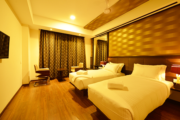 Capital O specially caters to new-age corporate travellers, with facilities for business & leisure stays. Photo courtesy: OYO
