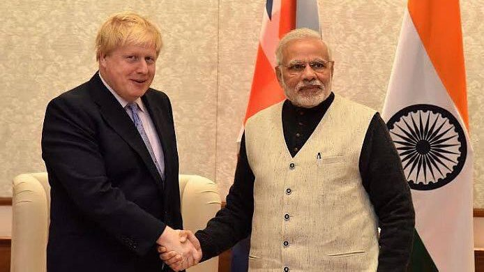 In a letter earlier this month, Johnson had played up his personal relationship with Prime Minister Modi