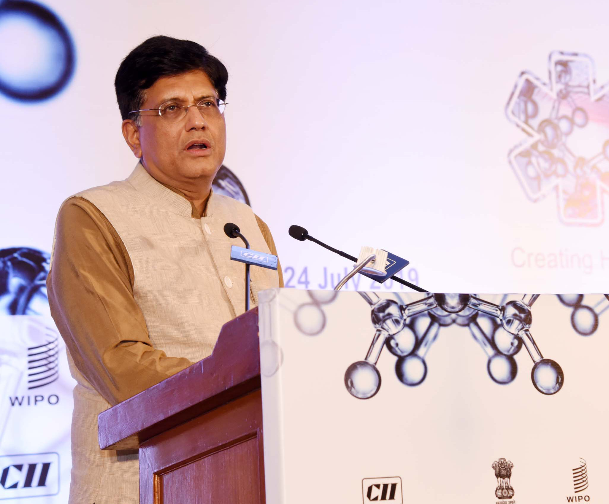 Union Minister of Commerce & Industry and Railways, Piyush Goyal. Photo courtesy: pib.nic.in