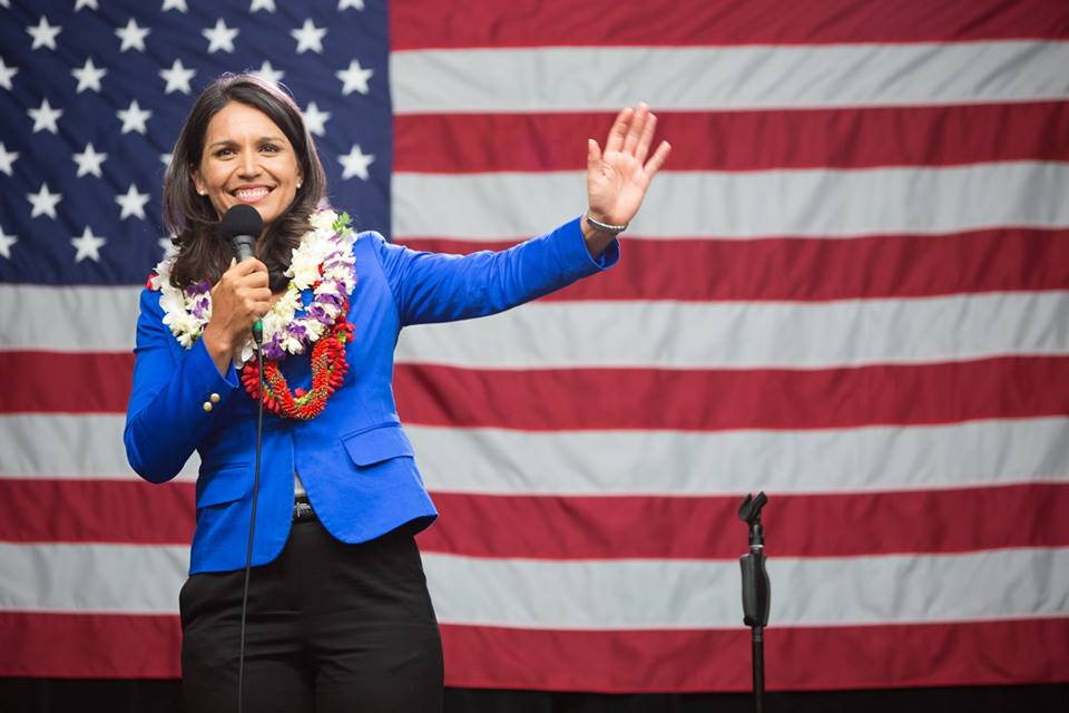 Democratic US Presidential candidate Tulsi Gabbard. Photo courtesy: Facebook/Tulsi Gabbard