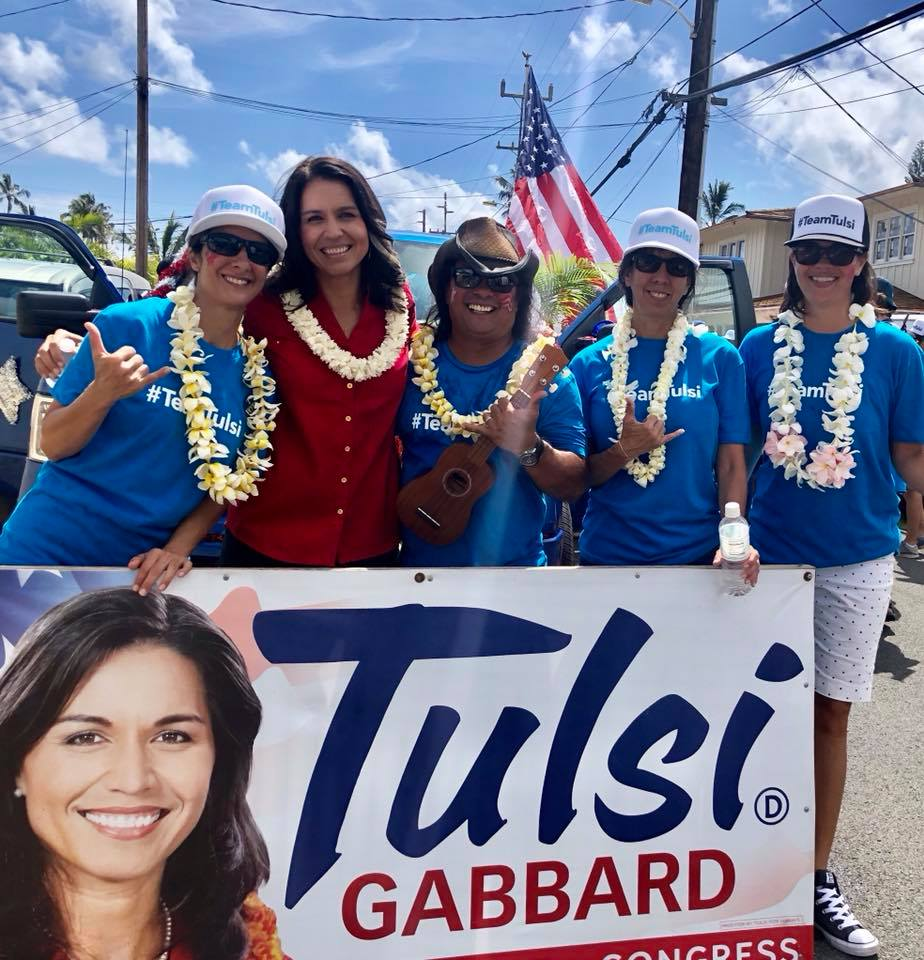Photo courtesy: Facebook/Tulsi Gabbard