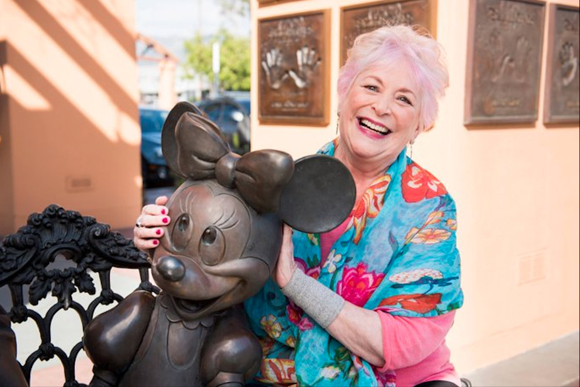 Russi Taylor voiced the iconic Disney cartoon character Minnie Mouse. Photo courtesy: Twitter/@Disney