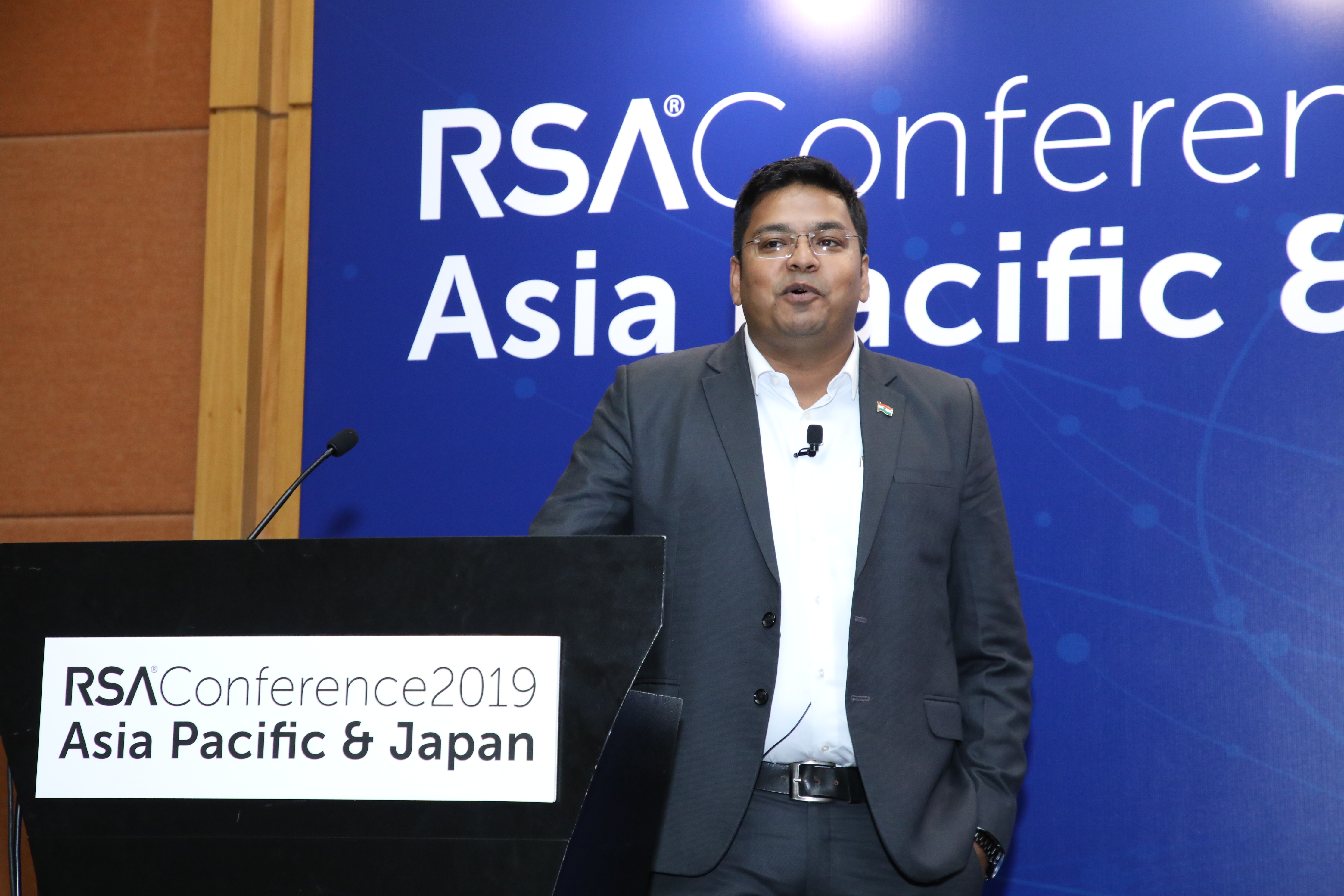 In a keynote titled 'Future of Data Protection Legislation: India's Journey and Way Forward', Vikash Chourasia, Scientist 'C', Ministry of Electronics and Information Technology, Government of India, talked about India's approach towards data protection. Photo courtesy: RSA