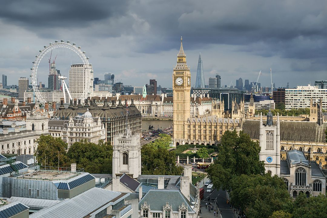 London named as the world's best city for students in a recent study. Photo courtesy: Wikimedia