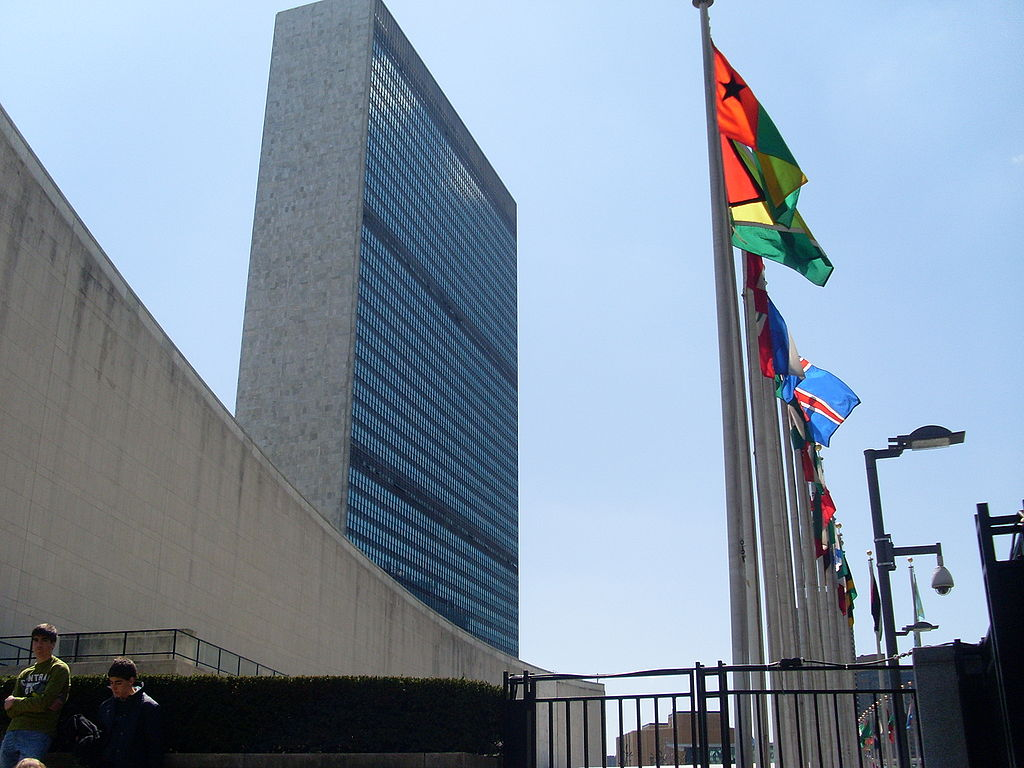 United Nations headquarters in New York. Photo courtesy: Wikimedia
