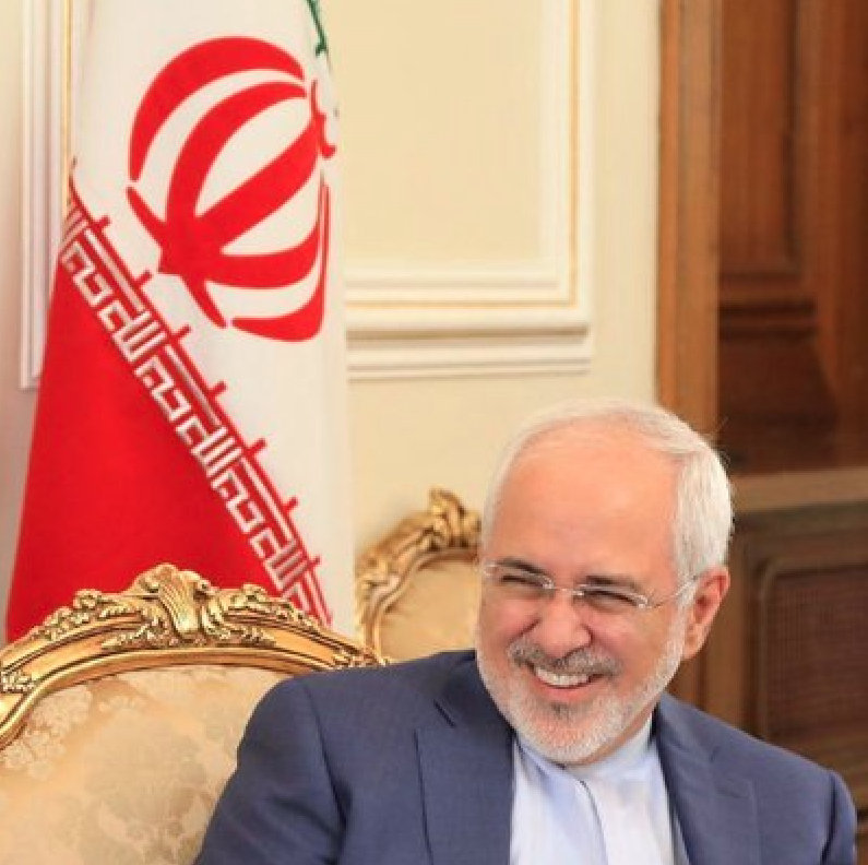 Iranian Foreign Minister Javad Zarif. Photo courtesy: Twitter/@JZarif