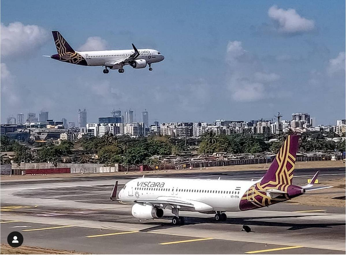 Vistara adds Dubai as its second international destination. Photo courtesy: Twitter/@airvistara