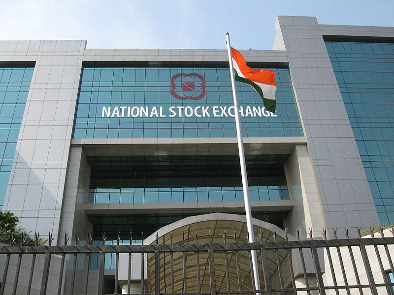 National Stock Exchange building, Mumbai. Photo courtesy: Wikipedia