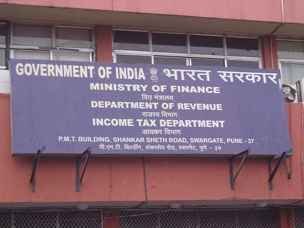 The Indian Government extended the tax filing due date to August 31, 2019. Photo courtesy: Wikimedia