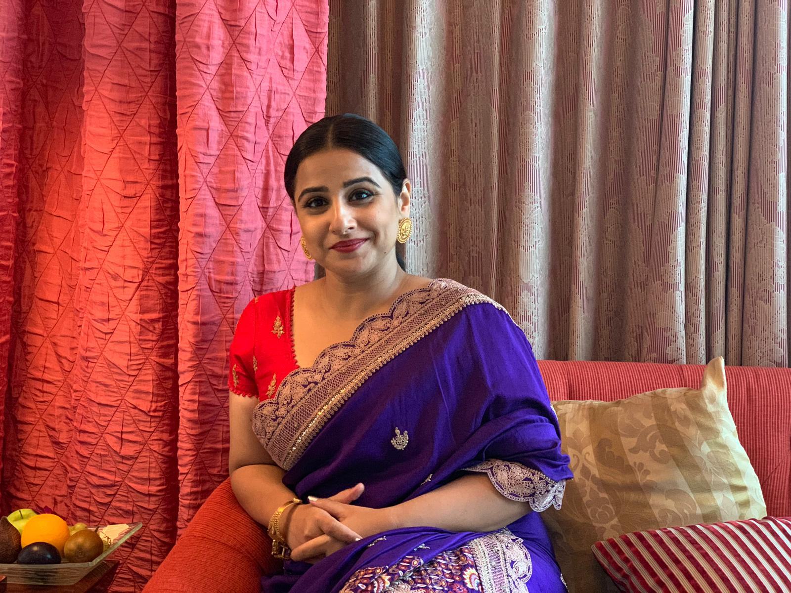 Vidya Balan plays Ajith's wife in Nerkonda Paarvai. Photo courtesy: Connected to India