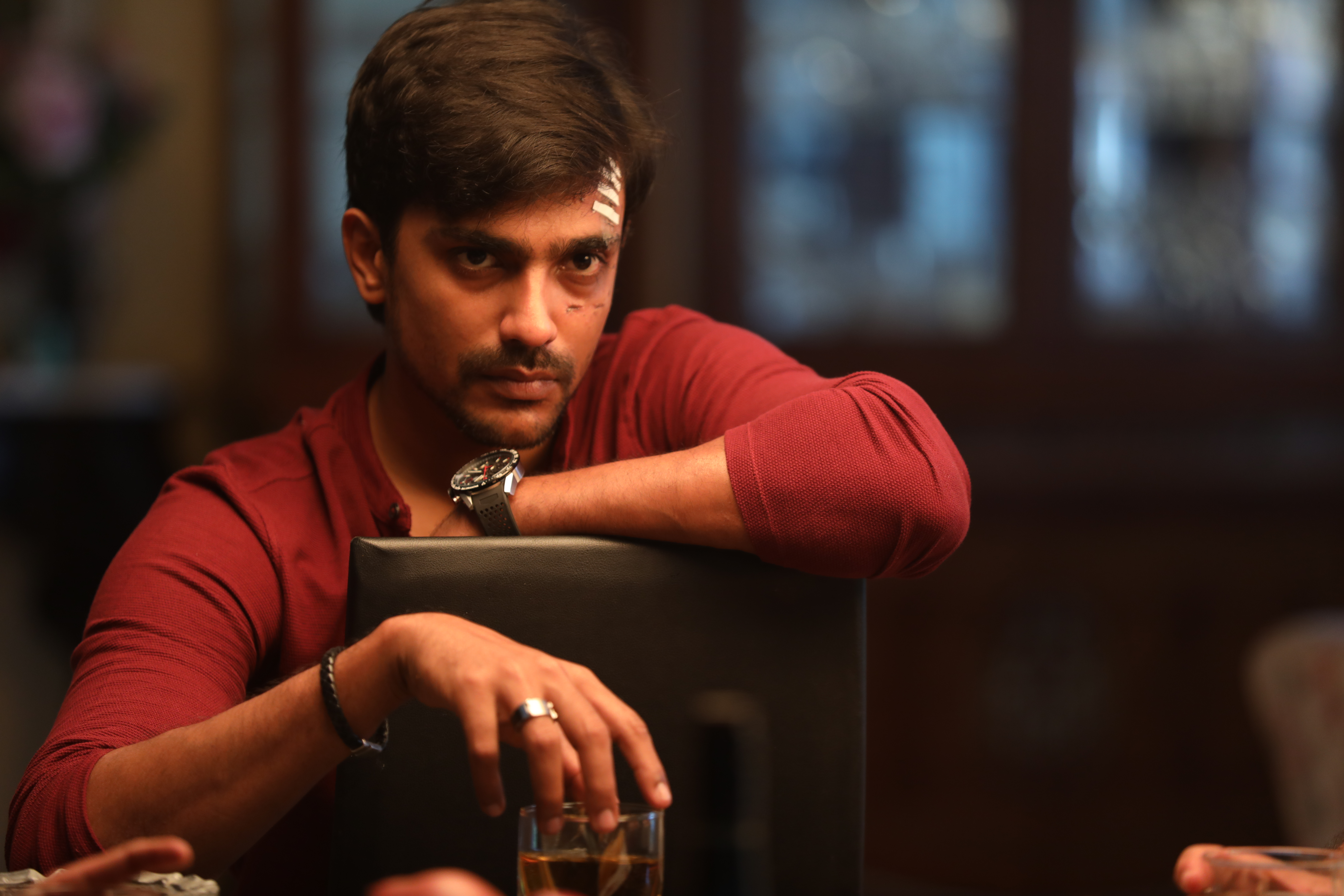 Arjun Chidambaram plays Adhik in Nerkonda Paarvai