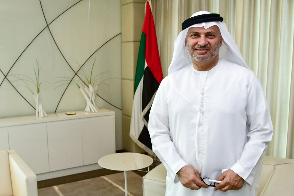 UAE Minister of State for Foreign Affairs, Anwar Bin Mohammed Gargash has called for dialogue and restraint on J&K. Photo courtesy: Twitter/@AsiaPolicy