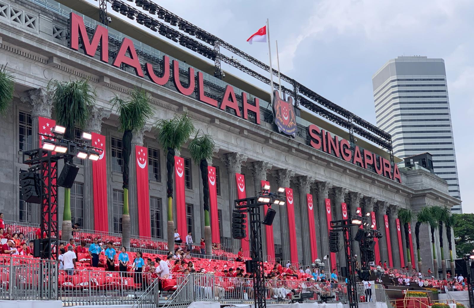 Singapore celebrates its 54th National Day. Photo courtesy: Connected to India