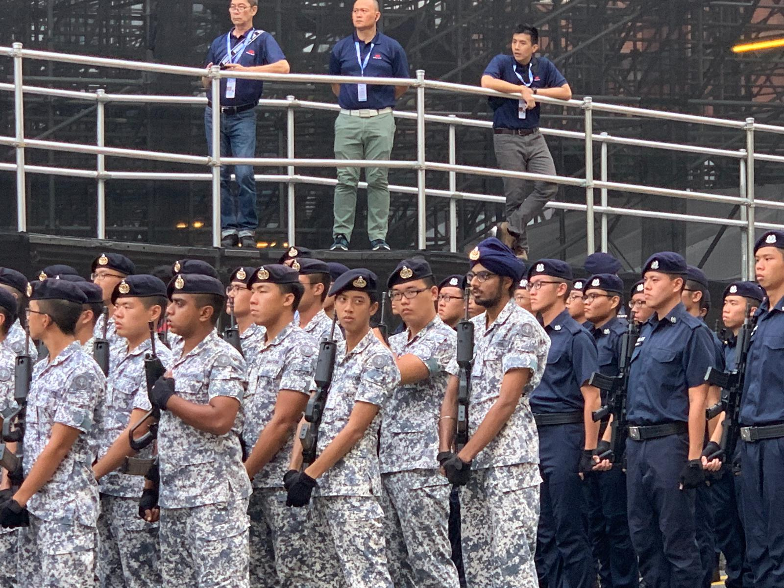 For the first time, the Singapore Armed Forces (SAF) and HomeTeam Volunteer Corps will appear as a marching contingent. Photo courtesy: Connected to India