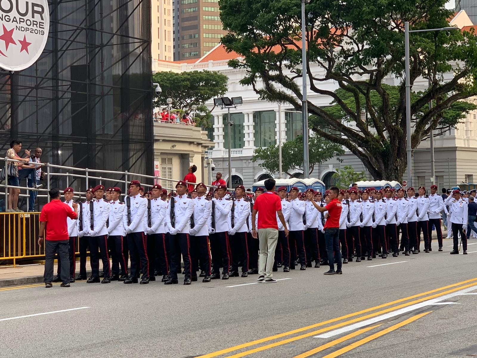 The theme of this year's National Day Parade is Our Singapore. Photo courtesy: Connected to India