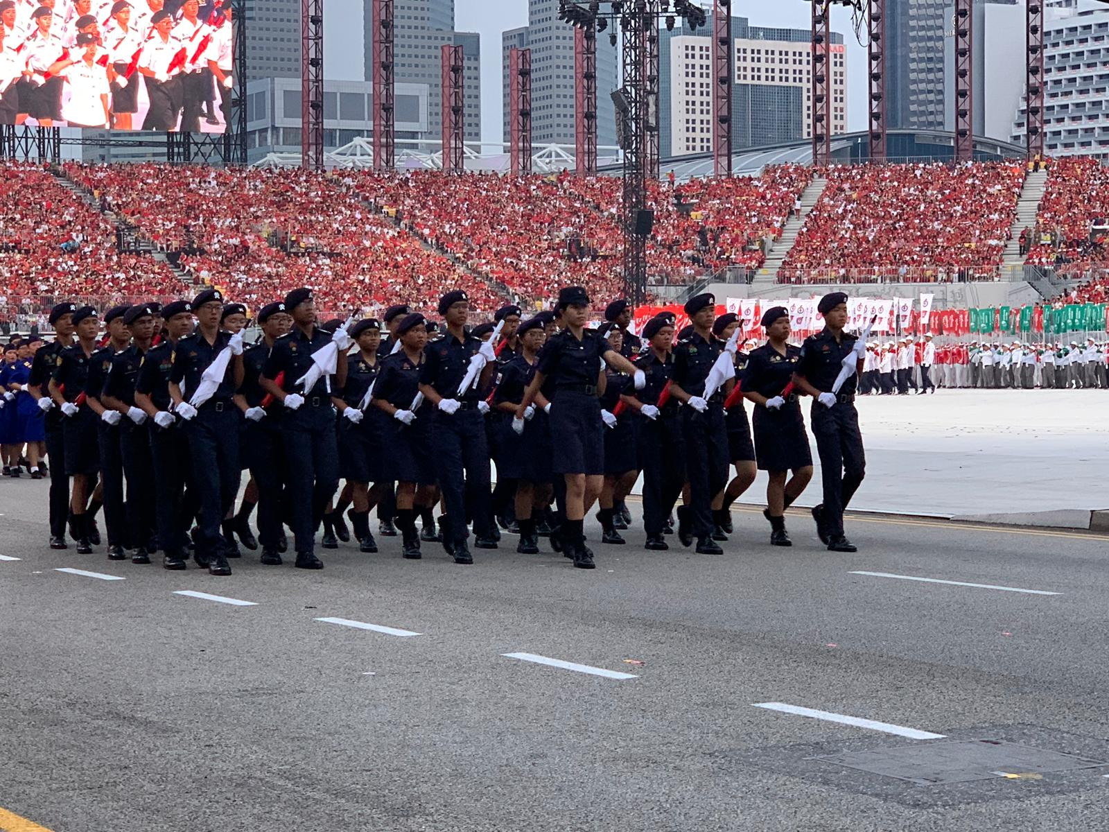 The parade was last held at the Padang in 2015. Photo courtesy: Connected to India