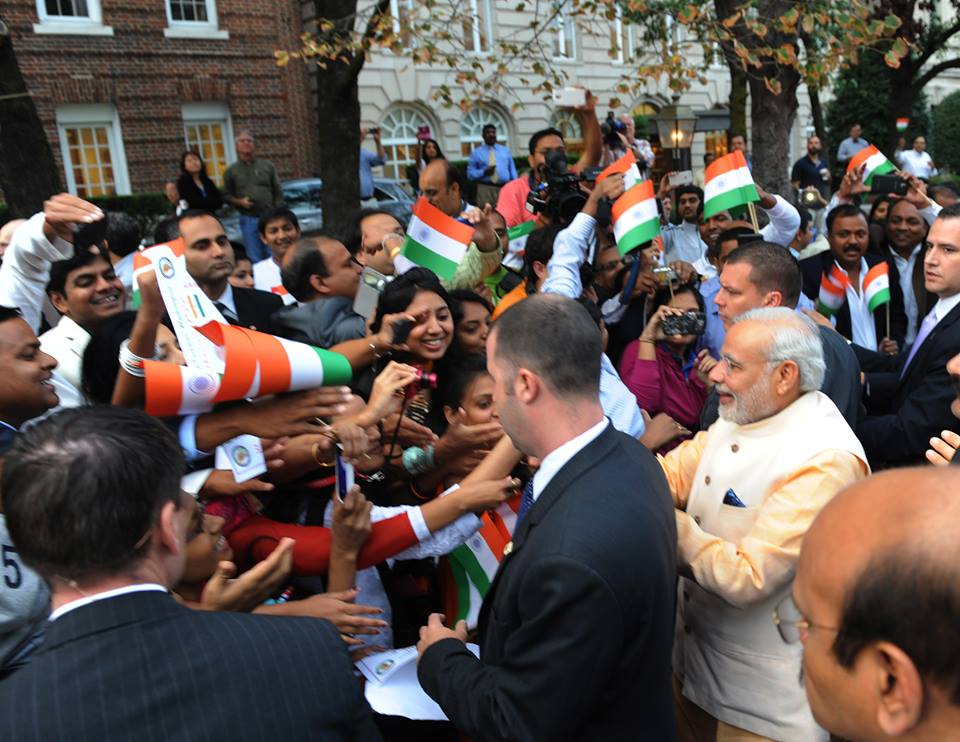 Approximately 40,000 people have registered for the 'Howdy, Modi!' summit in Houston. File photo courtesy: Facebook/Narendra Modi