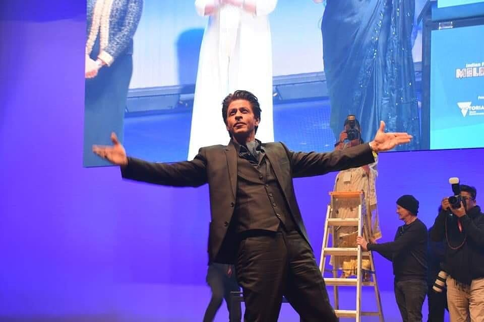 Bollywood superstar Shah Rukh Khan is the chief guest at this year's IFFM. Photo courtesy: Facebook/Indian Film Festival of Melbourne