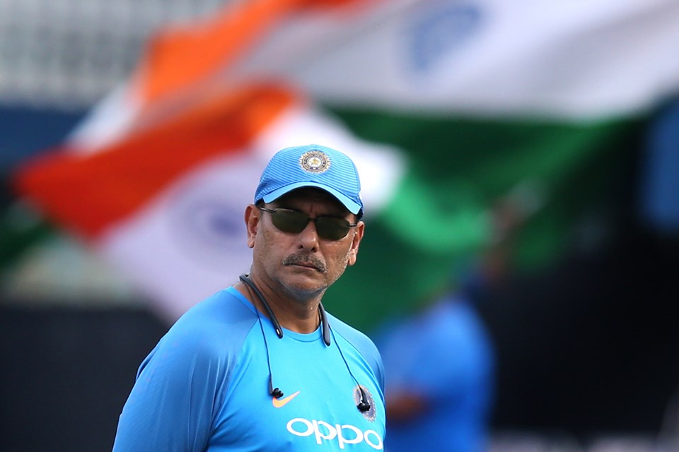 Ravi Shastri has been shortlisted along with five others for the post of Indian cricket coach. Photo courtesy: Facebook/Indian Cricket Team