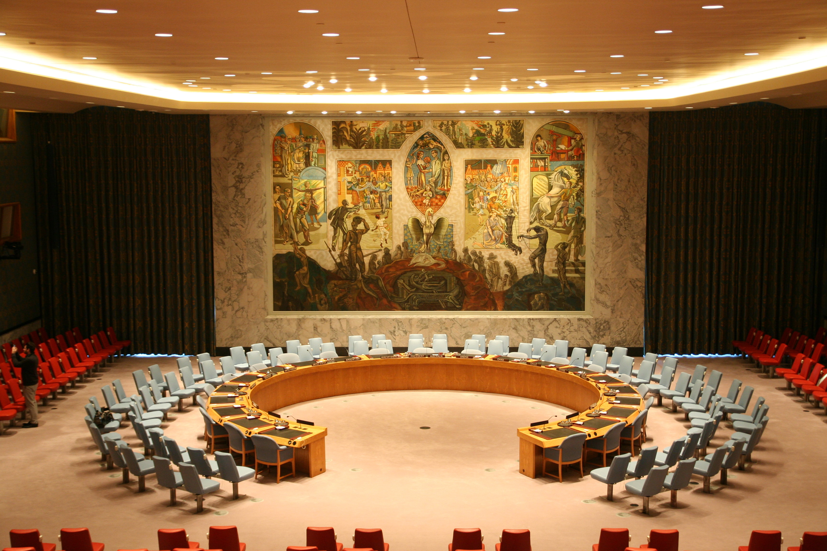 The United Nations Security Council in New York. Photo courtesy: Wikimedia
