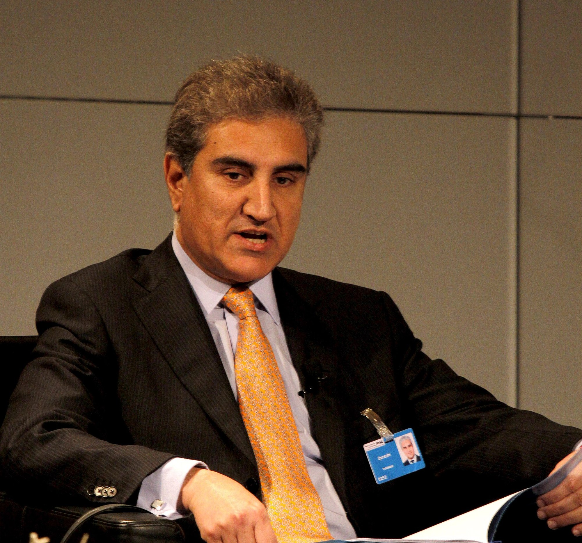 Pakistan Foreign Minister Shah Mahmood Qureshi has written to the UNSC asking for a meeting on the Kashmir issue. Photo courtesy: Wikimedia
