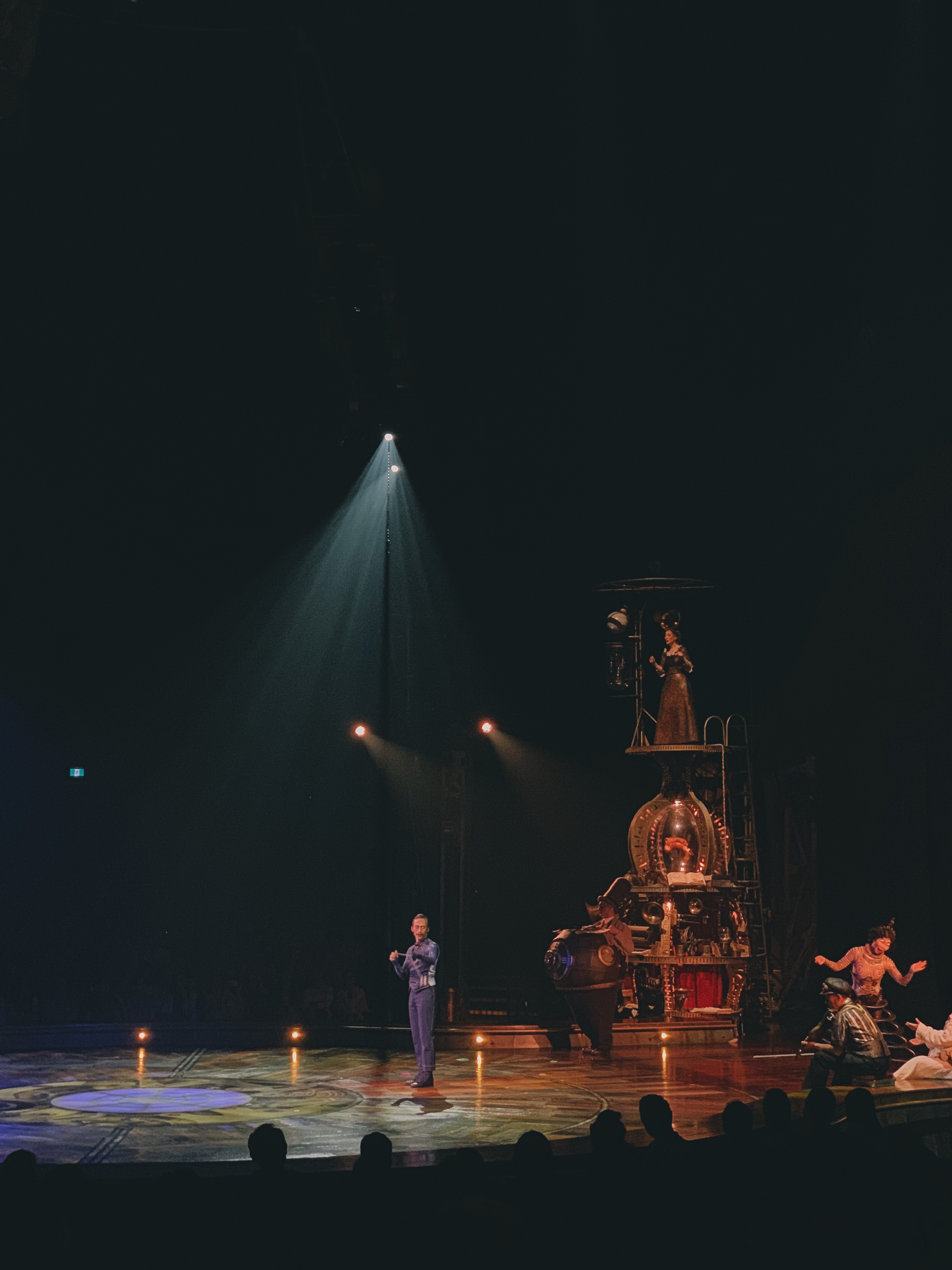KURIOS was presented in the intimate setting of the signature Big Top. Photo: Connected to India