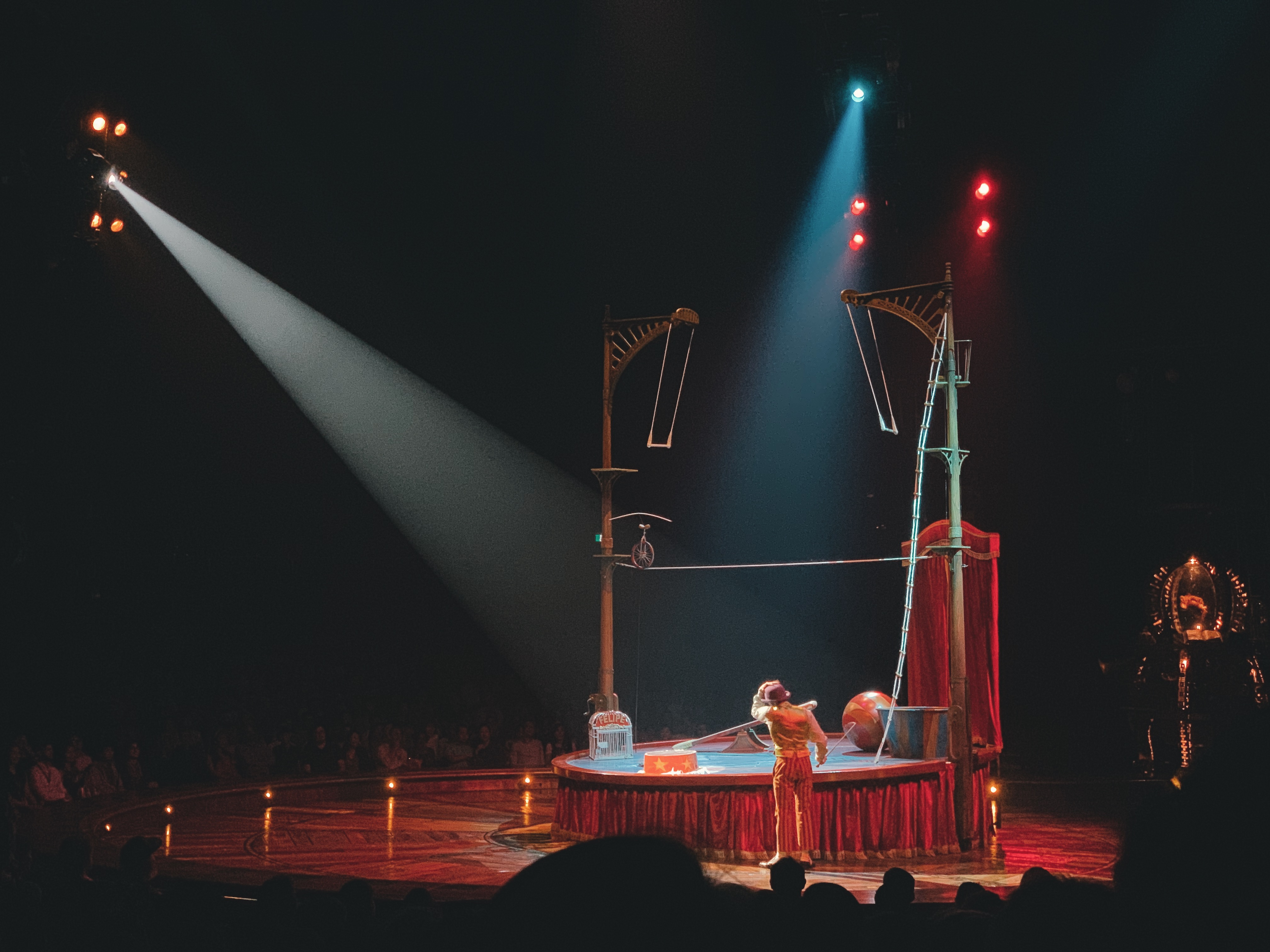 The invisible circus was an act we... never saw... Photo: Connected to India