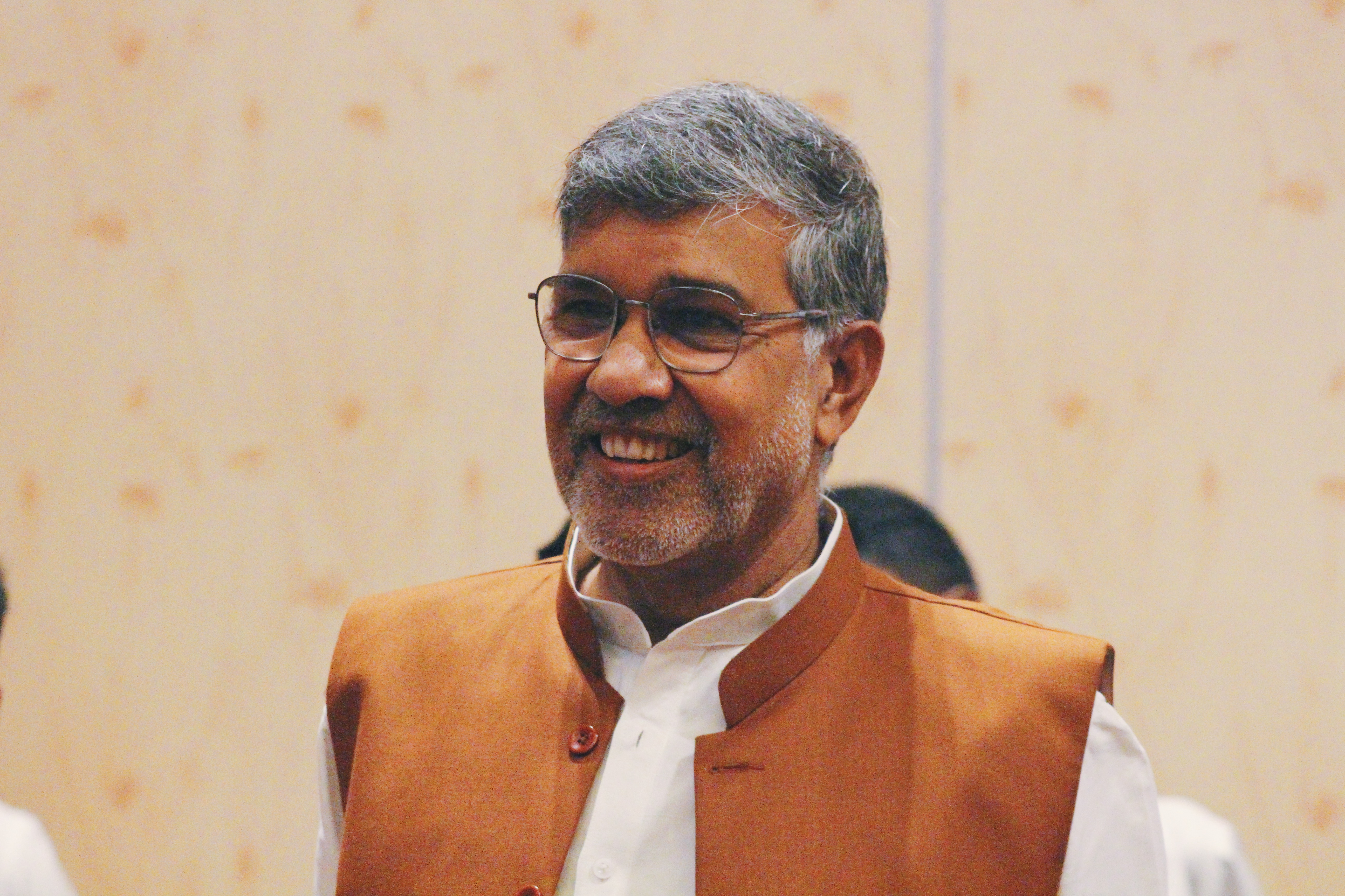 Nobel Laureate Kailash Satyarthi. Photo courtesy: Connected to India