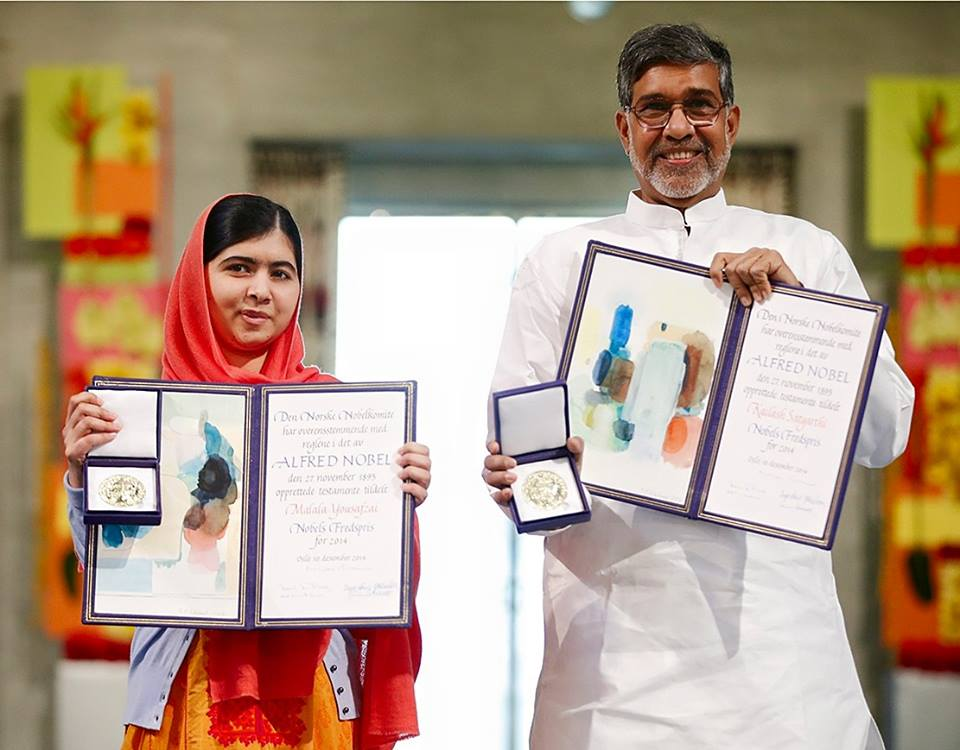 Kailash Satyarthi won the Nobel Peace Prize in 2014. Photo courtesy: Facebook/Kailash Satyarthi