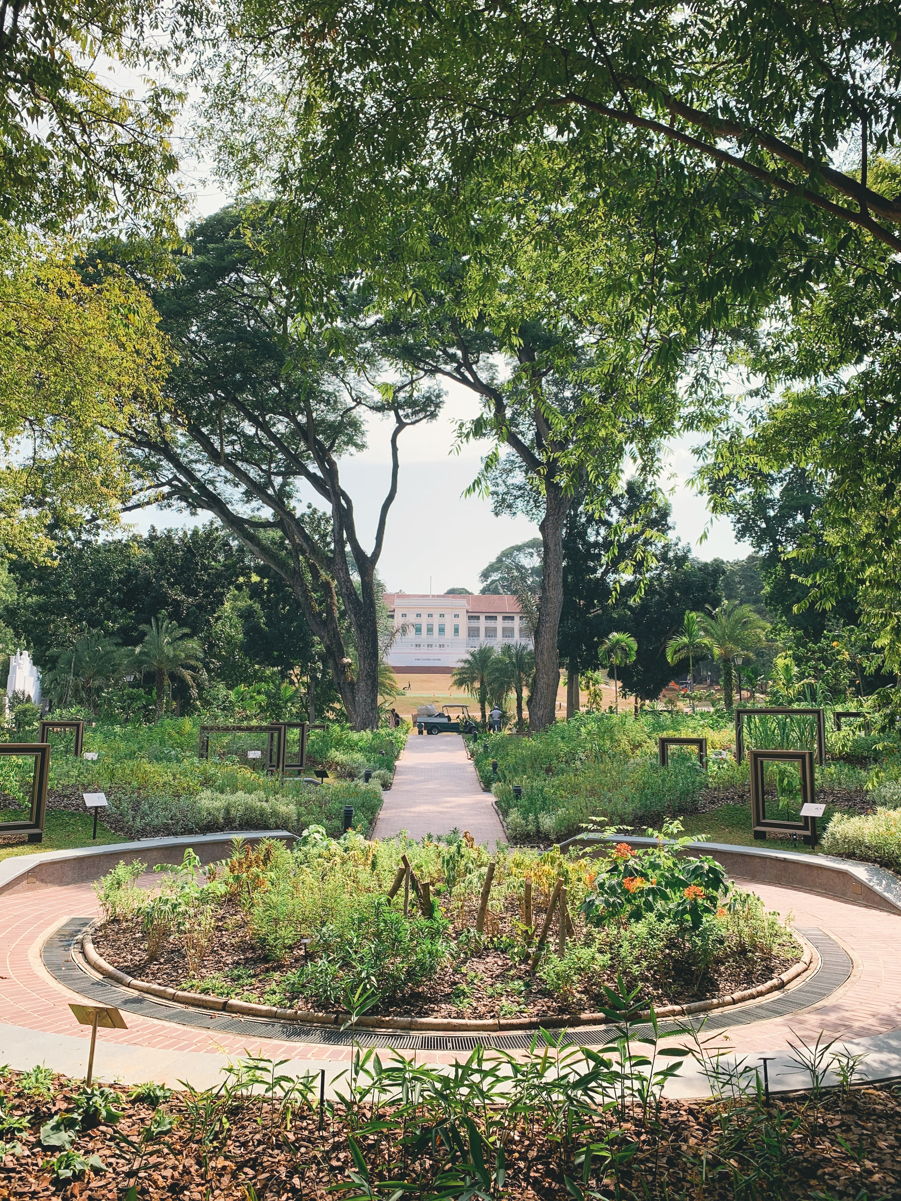 'From Singapore to Singaporean: The Bicentennial Experience', set in the lush greenery of Fort Canning Park, will run till end of 2019. Photo: Connected to India