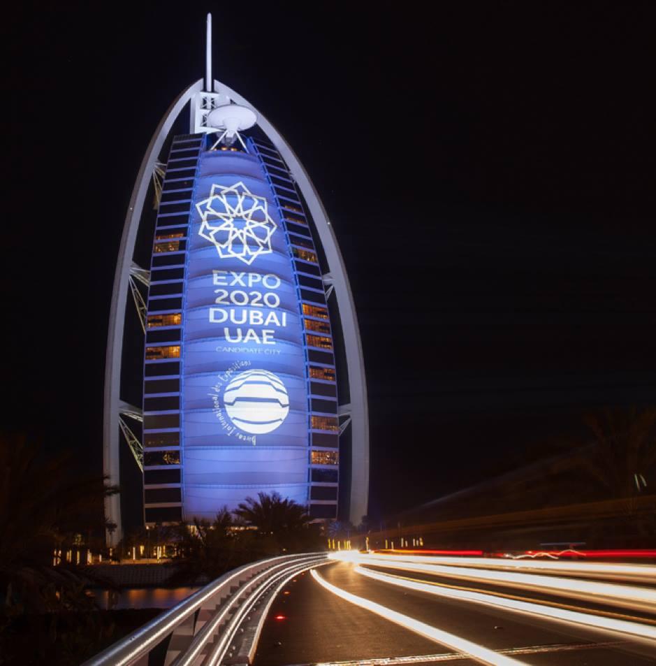 Dubai Expo 2020 will be held from October 20, 2020, to April 10, 2021. Photo courtesy: Facebook/Expo 2020 Dubai