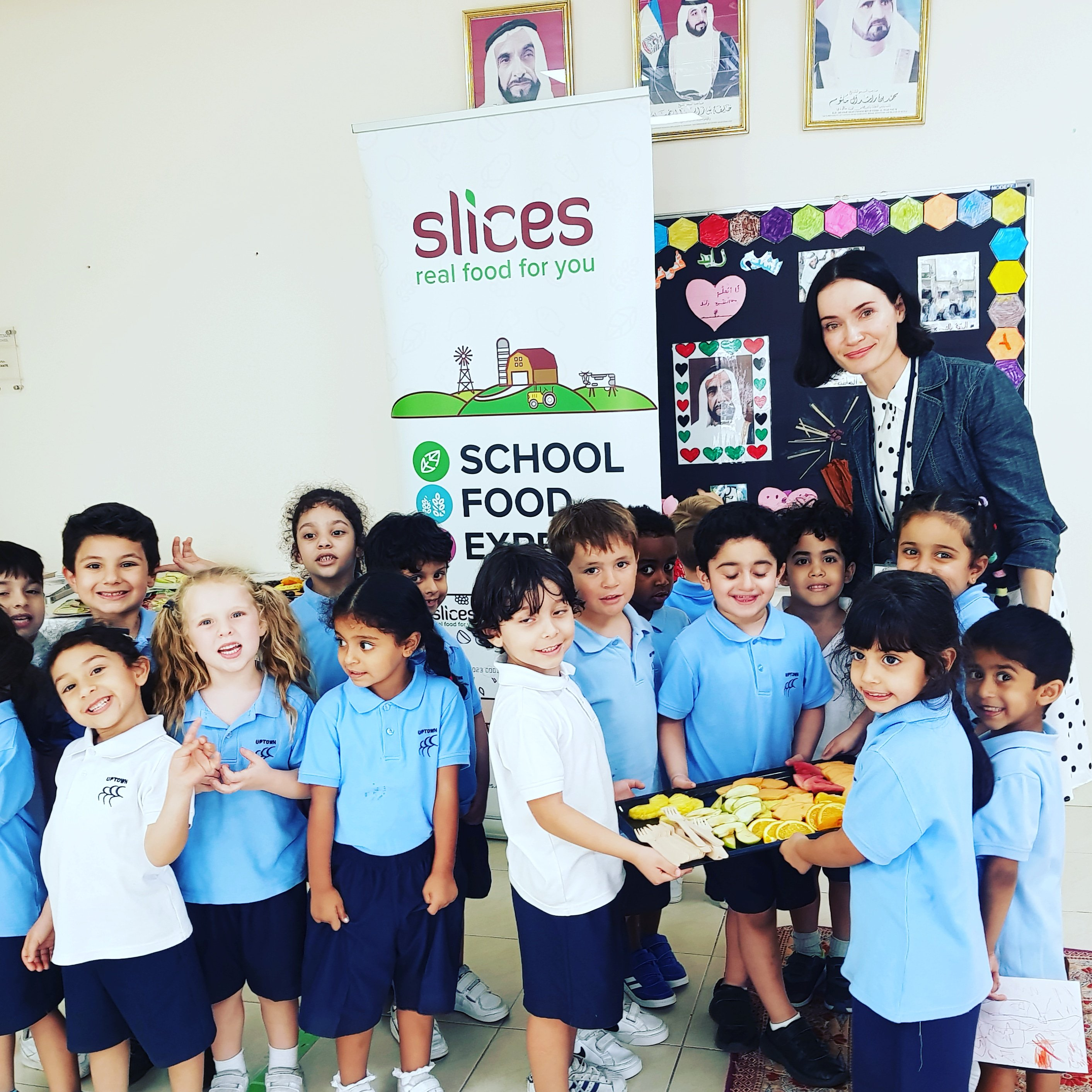 Slices works with vendors to feed 10,000 UAE students a day healthy food. Photo courtesy: Twitter/@SlicesAE