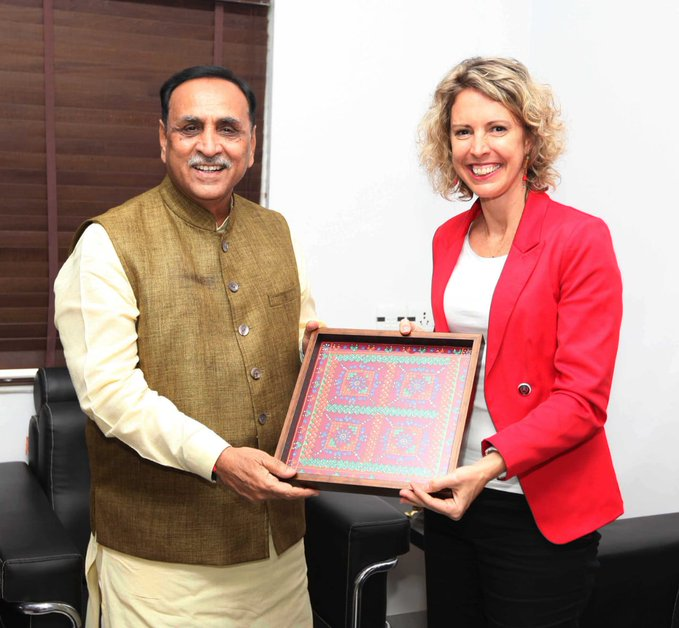 Consul General of France in Mumbai Sonia Barbry