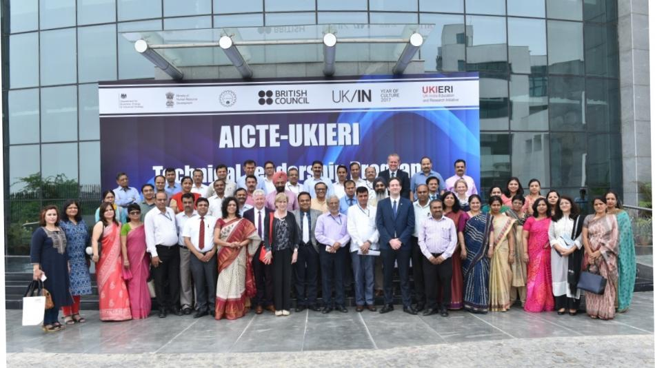 The visit is part of a higher education-focused bilateral programme - the UK-India Education and Research Initiative (UKIERI) - helmed by the British Council.