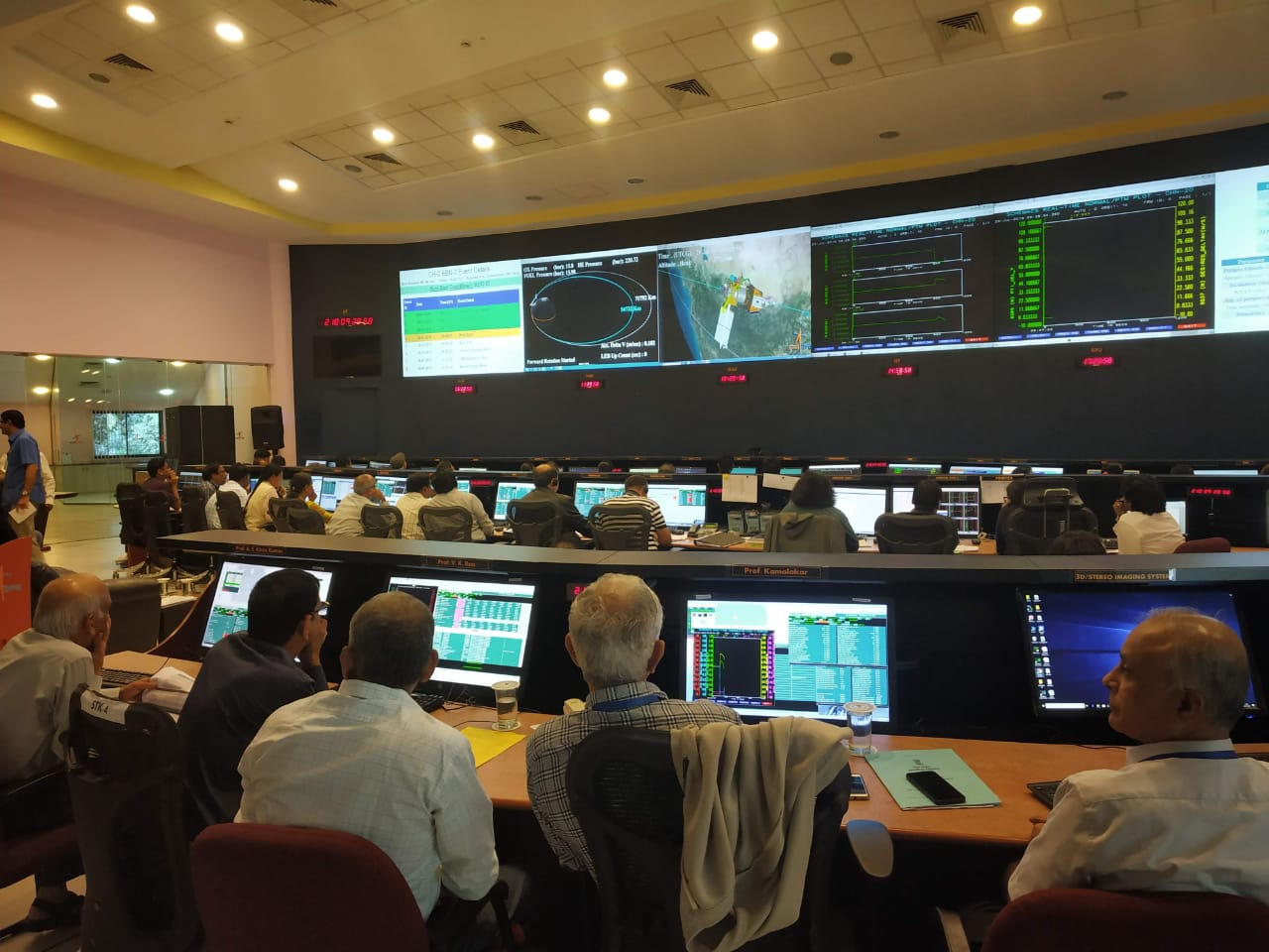 PM Narendra Modi will watch the landing live from the space agency's control room. Photo courtesy: Twitter/@isro