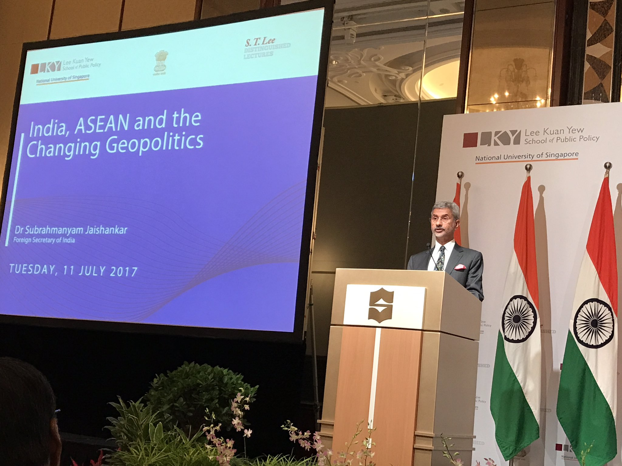 Jaishankar will be joined by Singapore's Foreign Affairs Minister Vivian Balakrishnan.