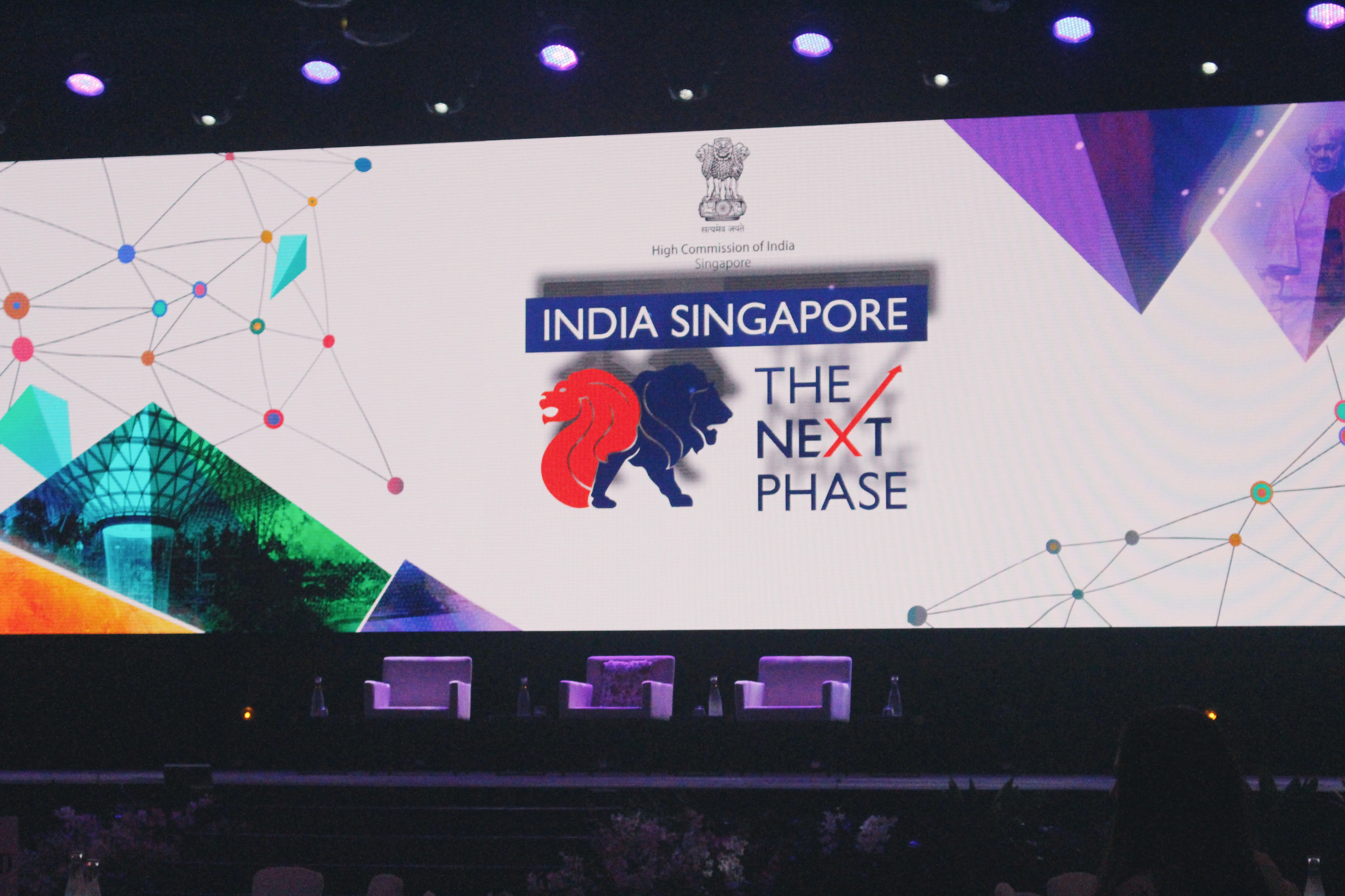 India-Singapore: The Next Phase business and innovation summit inaugurates on Monday, September 9, at Marina Bay Sands Expo and Convention Centre. Photo: Connected to India