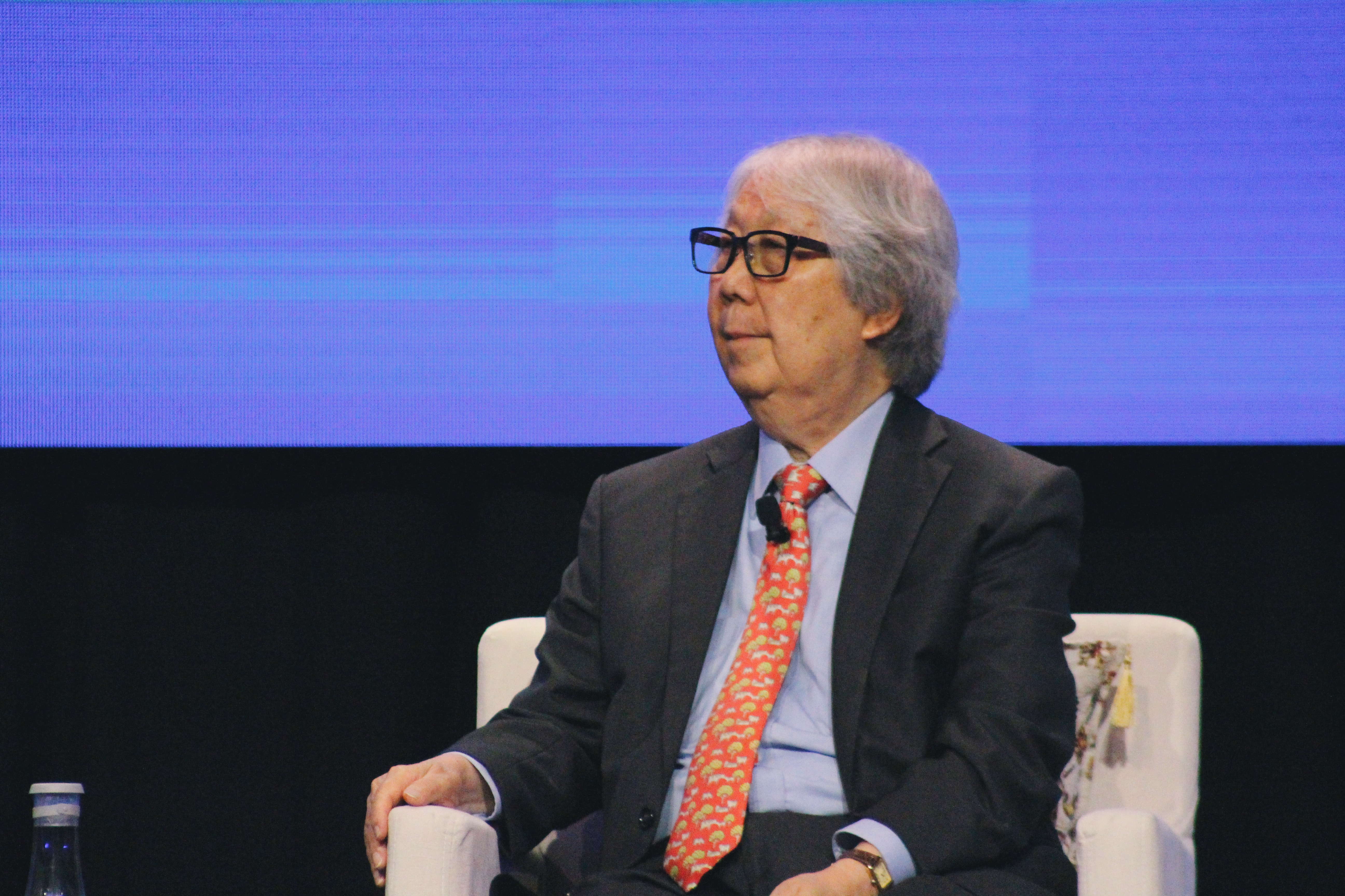 Singapore's Ambassador-at-Large, Professor Tommy Koh. Photo: Connected to India.