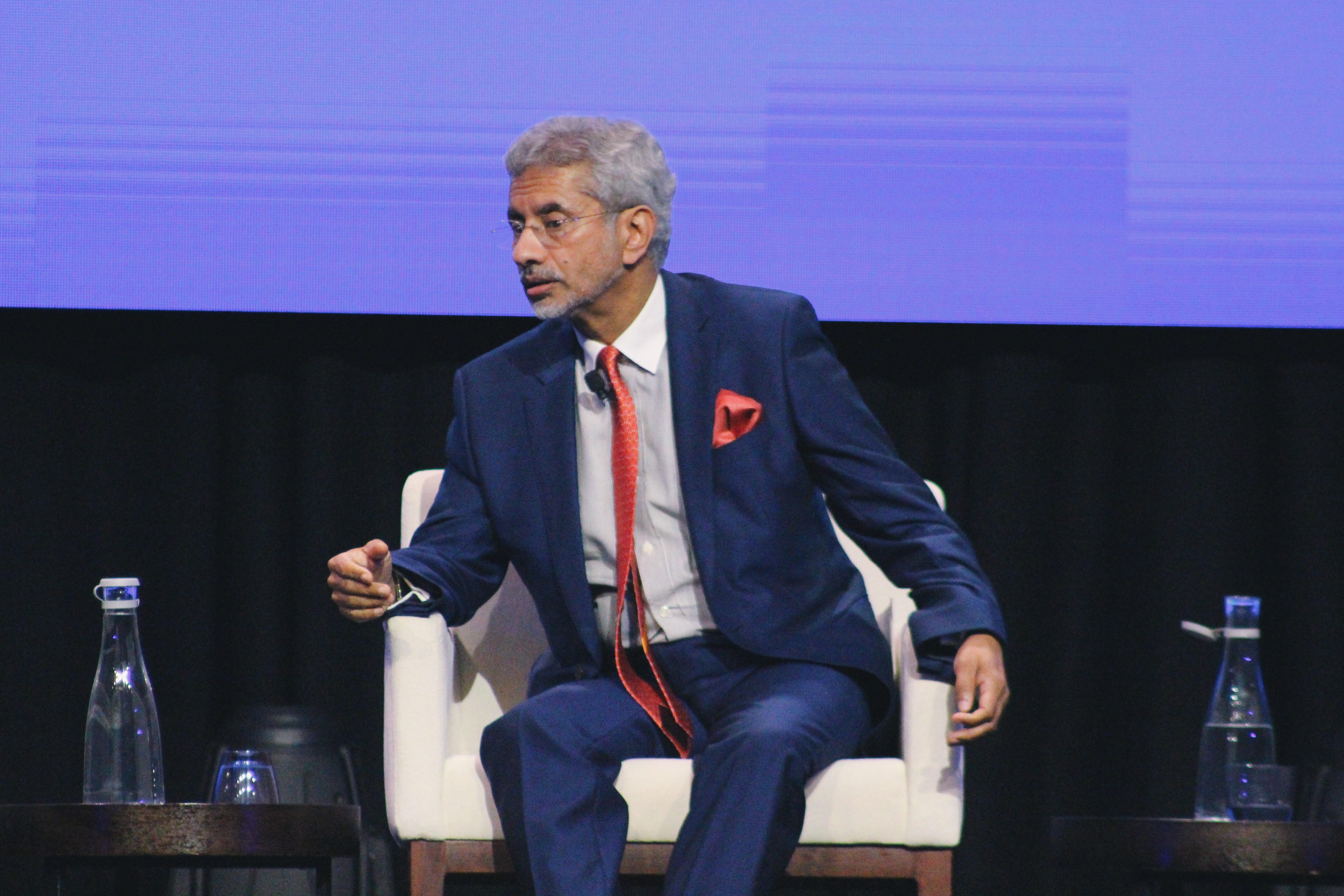 Dr Jaishankar speaks about India's position on foreign policy and economic relations. Photo: Connected to India